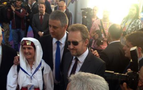 S Bakirom Izetbegovićem (SDA), predsjedateljem Predsjedništva BiH