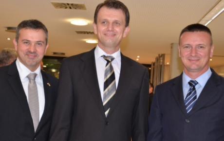 Franjo Akmadža, Mile Baričević i Danijel Marušić