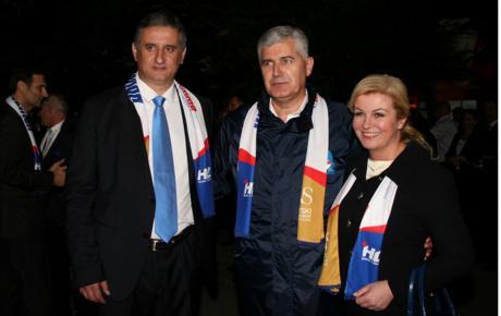 Karamarko, Čović i Grabar Kitarović