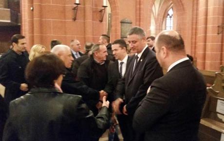 Brojni iseljenici pozdravili su predsjednika Karamarka …