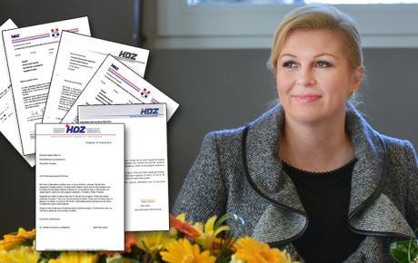 Pisma podrške Kolindi Grabar-Kitarović pristigla su iz svih krajeva svijeta