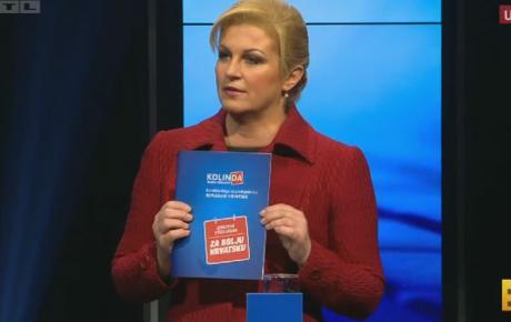 Nakon što je trijumfirala na RTL-u i Novoj TV, buduća predsjednica deklasirat će Josipovića i na HTV-u!