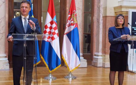S predsjednicom Narodne skupštine Republike Srbije Majom Gojković