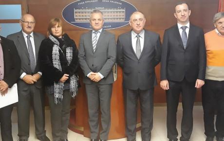 Sastanak s prijedorskim gradonačelnikom Milenkom Đakovićem