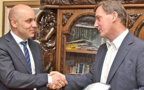 Po pobjedu i na EU izborima: gradonačelnik Ivan Bosančić & predsjednik vinkovačkog HDZ-a Mladen Karlić