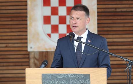 Predsjednik Hrvatskog sabora prošle godine na komemoraciji u Bleiburgu